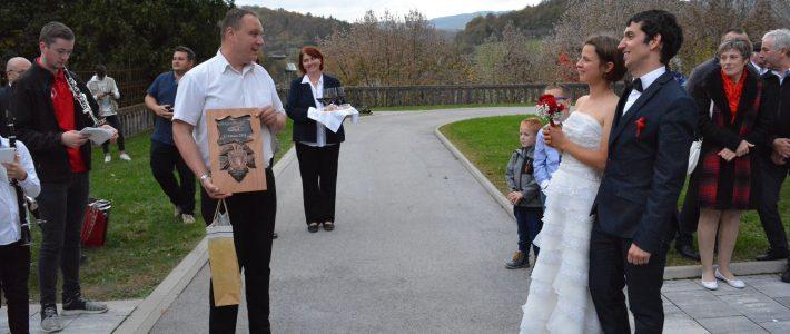 Poročila sta se naša člana Anja in Marko